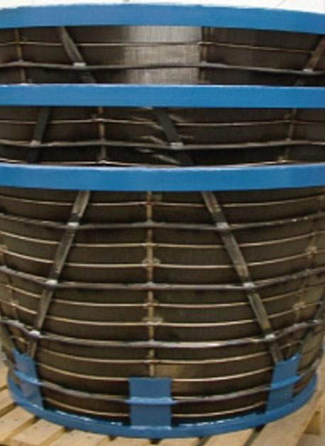 Centrifuge basket