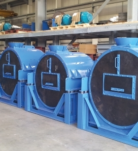DVE 'MUD' Centrifuges for the Oil Industry