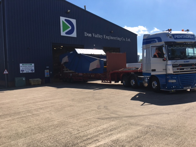 Don Valley Engineering Ltd deliver the first of two Large Banana Screens to Dead Sea works Israel - Don Valley Engineering